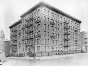 Northeast corner of St. John's Place and Underhill Avenue, 1916
