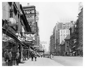 Northwest corner of 38th Street & Broadway - Midtown Manhattan - NY 1914