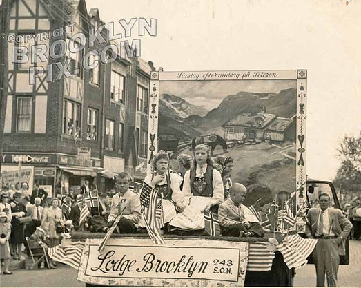 Norwegian Day Parade, 1950s