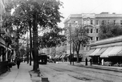 Nostrand Avenue looking north to St. Mark's Avenue, c.1920