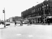 Nostrand Avenue looking south from Glenwood Road, 1967