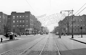 Nostrand Avenue, looking south to Linden Boulevard, 1943