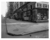 Nothwest Corner of 59th Street & Madison Avenue -  Midtown Manhattan 1914