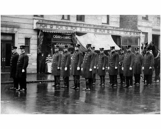 NYPD parade formation 1920's - Brooklyn NY