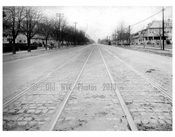 Ocean Ave  1924 - Looking North from Ave T