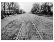 Ocean Ave  1924 - Looking North from Ave W
