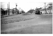 Ocean Ave  1924 - Looking North from Emmons Ave