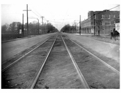 Ocean Ave  1924 - Looking North from Jerome Ave
