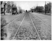 Ocean Ave  1924 - Looking South from Voorhies Ave
