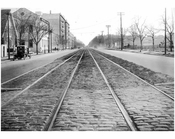 Ocean Ave Looking south from Ave I 1924