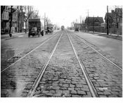 Ocean Ave Looking south from Voorhies Ave 1924