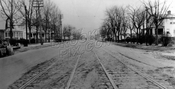 Ocean Avenue looking north from Avenue W, 1924