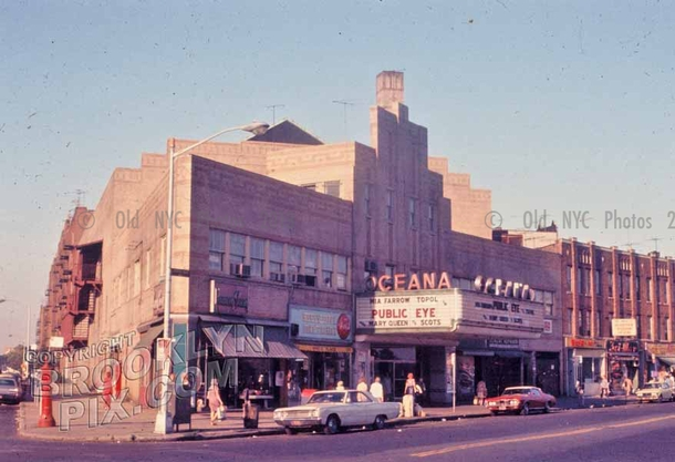Oceana Theater, Brighton Beach Avenue, 1960s