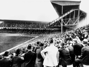 Opening day at Ebbets Field, 1913