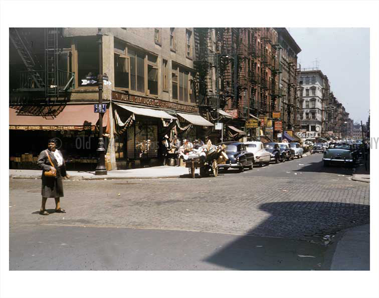 Orchard st broome st images and photography at old nyc for Mural on broome street