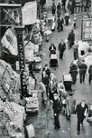Outdoor market, 1940s