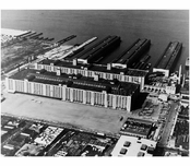 overall view of the  Brooklyn Army Supply Base 1983