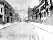 Pacific Street looking east from Clinton Street to Court Street, 1918