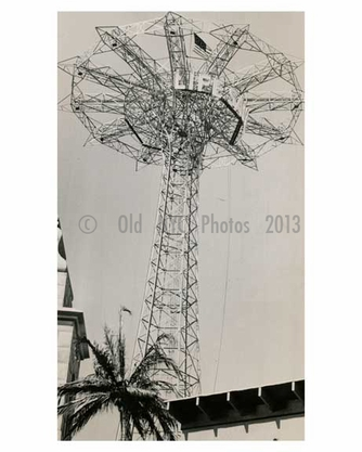Parachute Jump at the 1939 Worlds Fair - Flushing - Queens - NYC