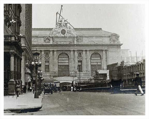 Park Avenue North to Grand Central 1914