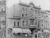 Park Theater, Downtown Fulton Street, ca. 1875