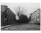 Parkside Court Flatbush 1940