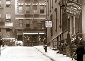 ParkSt. East from Mulberry St. to Mott St - Chinatown Manhattan 1907