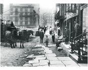 Pearl Street, looking west toward Centre Street 1913