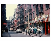 Pell Street - Chinatown 1960s - Downtown Manhattan