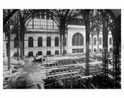 Penn Station under construction