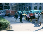 Plaza Hotel scene handsome cabs 1970's