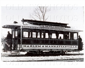 Polo Grounds Trolley NYC 1885