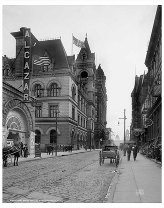 Post Office & Eagle Building 1906