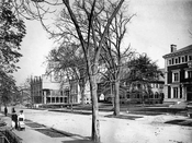 Pratt family mansions along Clinton Avenue, c.1904