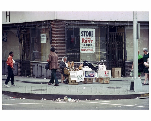 Pretzel Vendor at Delancy Street 1957 Lower East Side NYC