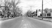 Prospect Avenue looking north toward Greenwood Avenue, 1928