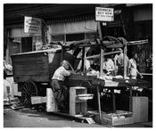 Pushcart Market - Tough Day - Brownsville - Brooklyn NY
