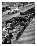 Pushcart market on Belmont Avenue