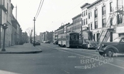 Putnam Avenue west from Bedford Avenue, 1950