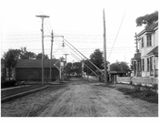 Queens Village - Bennett Ave - looking north up 212th St. toward Jamaica Ave 1911
