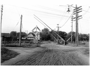 Queens Village - looking north up 218th Street to Jericho Tnpk 1911