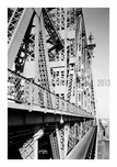 Queensboro bridge - view of the bridge on the bridge
