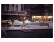 Radio City Music Hall in Rain