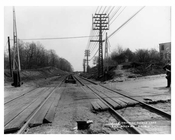 Railroad  tracks 1913 - Rockaway Queens NY