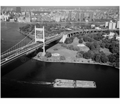 Randall's Island Tower, anchorage & viaductof the Triborough suspension bridge