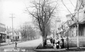 Richmond Street, south from Ridgewood Avenue, 1914