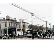 Rockaway & Hegeman Avenues - BRT Trolley Barn & Strike 1890's