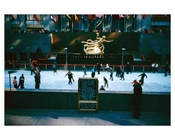 Rockefeller Center Ice Skating Rink November 1959   -  New York, NY