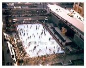 Rockefeller Plaza - Ice Skating Rink Open in Winter