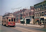 Rogers Avenue looking north from Midwood Street, 1947